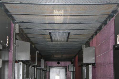 Steel Mesh on Ceiling