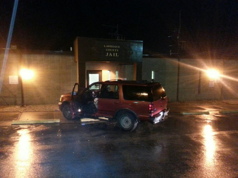 Vehicle driven into building